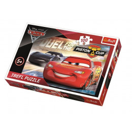 Trefl - Puzzle Cars Auta 3 Piston Cup 100 el. - 16313