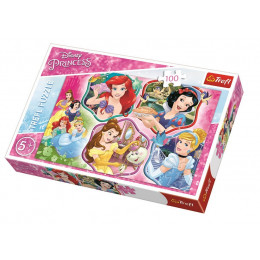 Trefl - Puzzle Disney Princess Magia księżniczek 100 el. - 16339