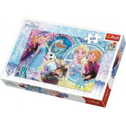 Trefl - Puzzle - Frozen 100el. - 16340