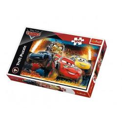 Trefl - Puzzle Cars - Ekstremalny wyścig 100 el. - 16358