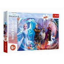 Trefl - Puzzle 100 el. Frozen 2 - Magia Krainy Lodu - 16366