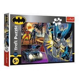 Trefl - Puzzle 100 el. - Nieustraszony Batman - 16394