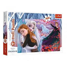 Trefl - Puzzle 100 el. Frozen 2 - Razem na zawsze - 16399