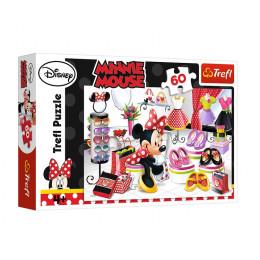 Trefl - Puzzle 60el. - Zakupowe szaleństwo Minnie - 17225