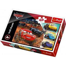 Trefl - Puzzle 60el. - Cars - Zygzak McQueen - 17327