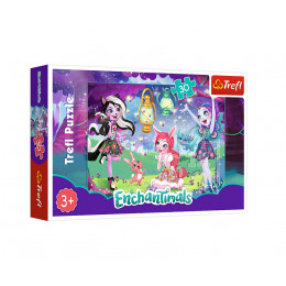 Trefl - Puzzle 30el. - Enchantimals - 18236