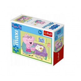 Trefl - Puzzle Mini Maxi Świnka Peppa 20 el. - 21000