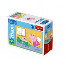 Trefl - Puzzle Mini Maxi Świnka Peppa 20 el. - 21001