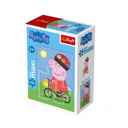 Trefl - Puzzle Mini Maxi Świnka Peppa 20 el. - 21002
