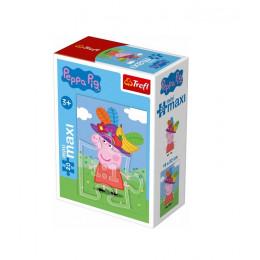 Trefl - Puzzle Mini Maxi Świnka Peppa 20 el. - 21003