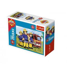 Trefl - Puzzle Mini Maxi Strażak Sam 20 el. - 21004