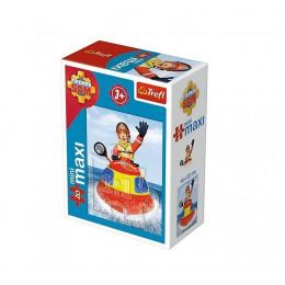 Trefl - Puzzle Mini Maxi Strażak Sam 20 el. - 21006