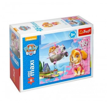 Trefl - Puzzle Mini Maxi Psi Patrol 20 el. - Skye - 21068