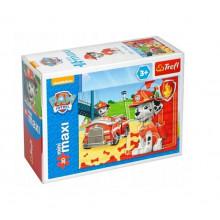 Trefl - Puzzle Mini Maxi Psi Patrol 20 el. - Marshall - 21070