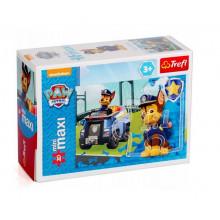 Trefl - Puzzle Mini Maxi Psi Patrol 20 el. - Chase - 21071