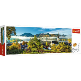 Trefl - Puzzle Panorama 1000 el - Jezioro Schliersee - 29035