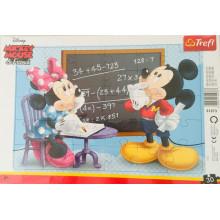 Trefl - Puzzle w ramce 30 el. - Myszka Mickey - 31273