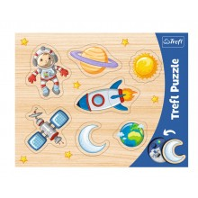Trefl – Puzzle ramkowe 7 elementów – Kosmos – 31310