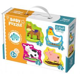Trefl - Puzzle Baby Classic - Zwierzęta na wsi - 36070