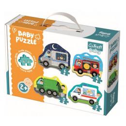 Trefl - Puzzle Baby Classic - Pojazdy i zawody - 36071