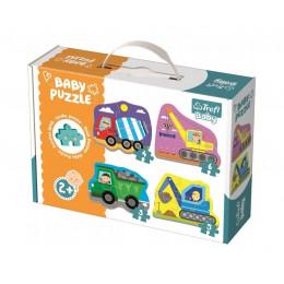 Trefl - Puzzle Baby Classic - Pojazdy na budowie - 36072