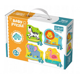 Trefl - Puzzle Baby Classic - Safari - 36073