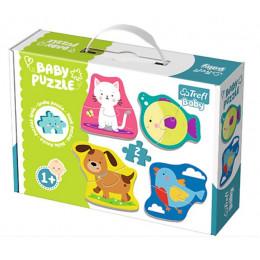 Trefl - Puzzle Baby Classic - Zwierzątka 4 x 2 el. - 36074