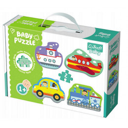 Trefl - Puzzle Baby Classic - Pojazdy - 36075