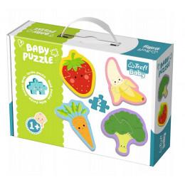 Trefl - Puzzle Baby Classic - Warzywa i owoce - 36076