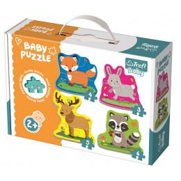 Trefl - Puzzle Baby Classic - Zwierzęta leśne - 36077