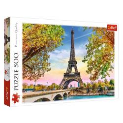 Trefl - Puzzle 500 el. - Romantyczny Paryż - 37330