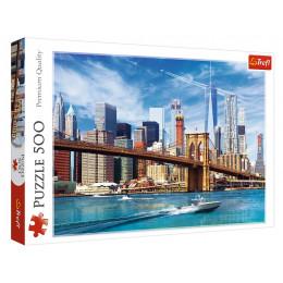 Trefl - Puzzle 500 el. - Widok na Nowy Jork - 37331
