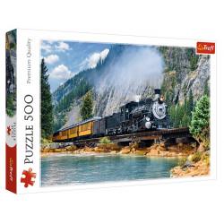 Trefl - Puzzle 500 el. - Górski pociąg - 37379