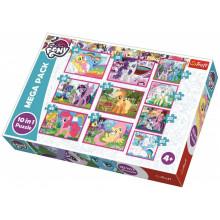 Trefl - Puzzle 10w1 - My Little Pony - Magiczny świat kucyków - 90353