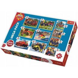 Trefl - Puzzle 10w1 - Ekipa ratunkowa Sama - 90356