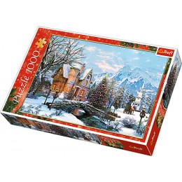 Trefl 10439 Puzzle 1000el Zimowy krajobraz