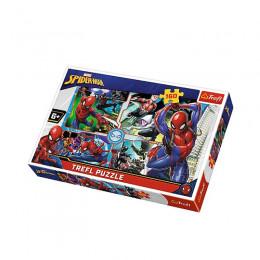 Trefl - Puzzle 160 el. - Spiderman - Na Ratunek - 15357
