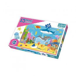 Trefl Baby - Puzzle Maxi 15el. - Podwodny Świat - 14277