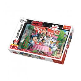 Trefl - Puzzle 160el. - Minnie Mouse - W kawiarni - 15298