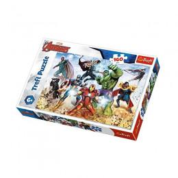 Trefl - Puzzle 160el - Avengers - Gotowi, by ratować - 15368