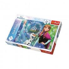 Trefl - Puzzle 200el. - Frozen - Kraina Lodu - Siła Sióstr - 13207