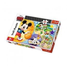 Trefl - Puzzle Maxi 24el. - Mickey Mouse - Czas na Sport - 14291