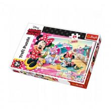 Trefl - Puzzle Maxi 24el. - Minnie Mouse - Wakacje Minnie - 14292