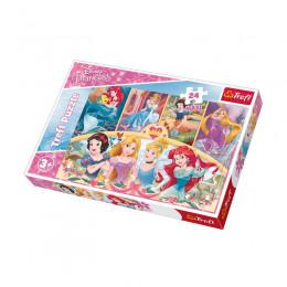 Trefl - Puzzle Maxi 24el - Disney Princess - Magia Wspomnień - 14294