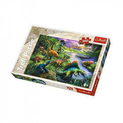 Trefl - Puzzle 260 el. - Dinozaury - 13214