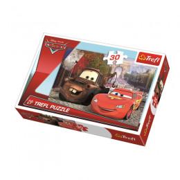 Trefl - Puzzle 30el. - Cars - 18206