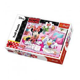 Trefl - Puzzle 30el. - Minnie Mouse - Najlepsze Przyjaciółki - 18217
