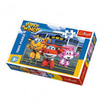 Trefl - Puzzle 30el. - Super Wings - Przed Hangarem - 18226