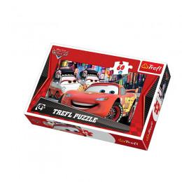 Trefl - Puzzle 60el. - Cars - Zwycięzca - 17211