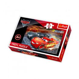 Trefl - Puzzle 60el. - Cars - Wyścig - 17297